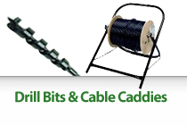 Drill Bits & Cable Caddies