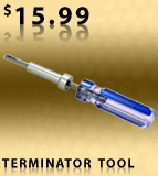 Gilbert Locking Terminator Tool